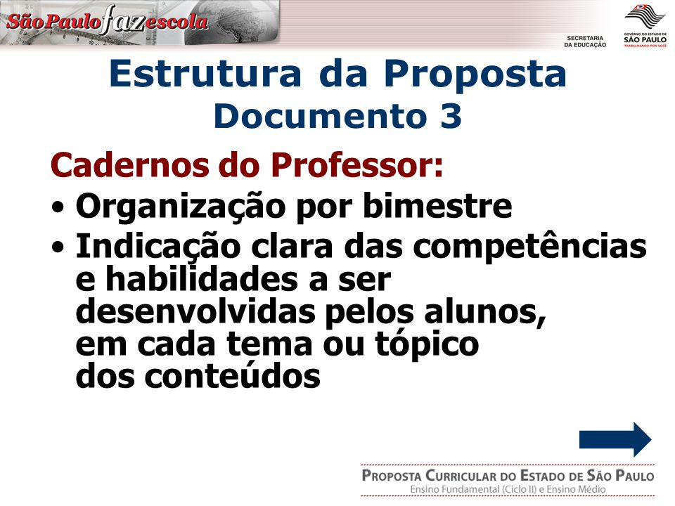 Estrutura da Proposta Documento 3