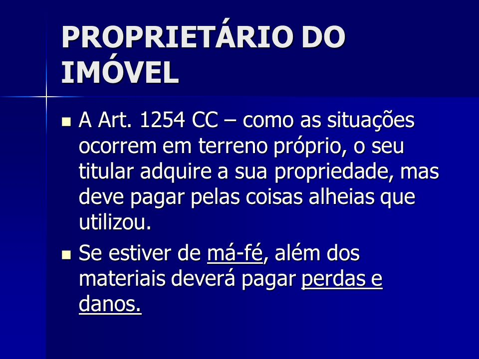 PROPRIETÁRIO DO IMÓVEL