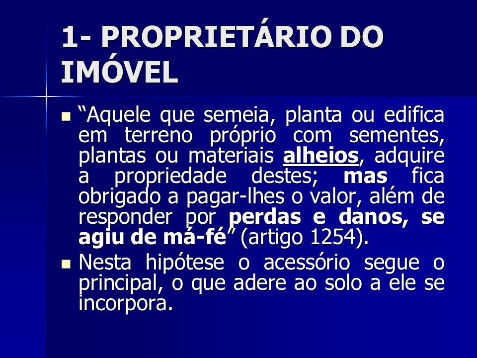 1- PROPRIETÁRIO DO IMÓVEL