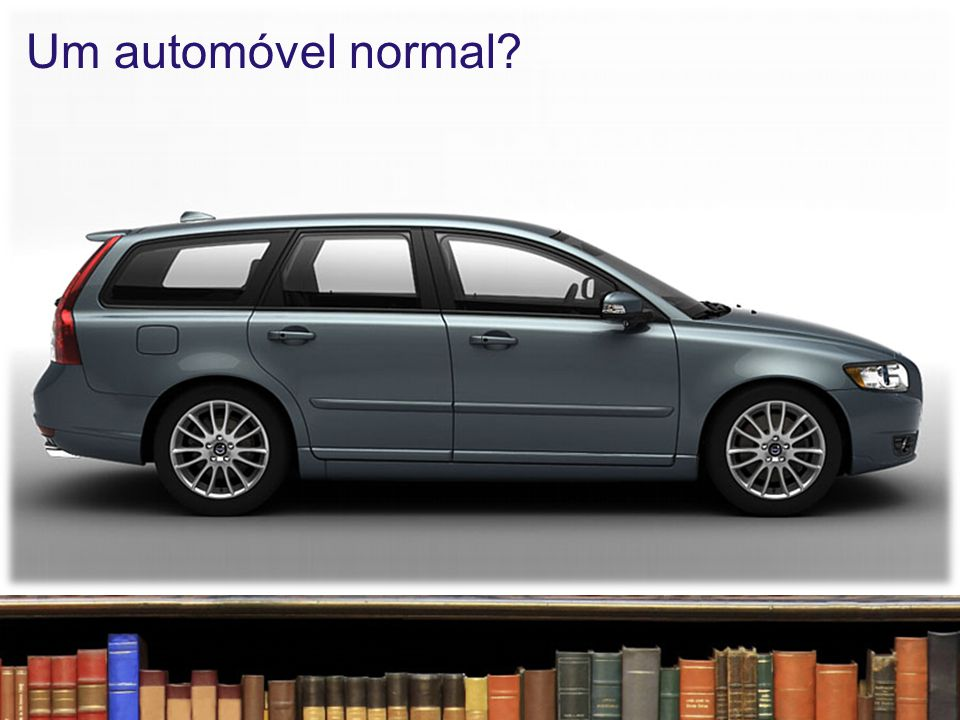 Um automóvel normal