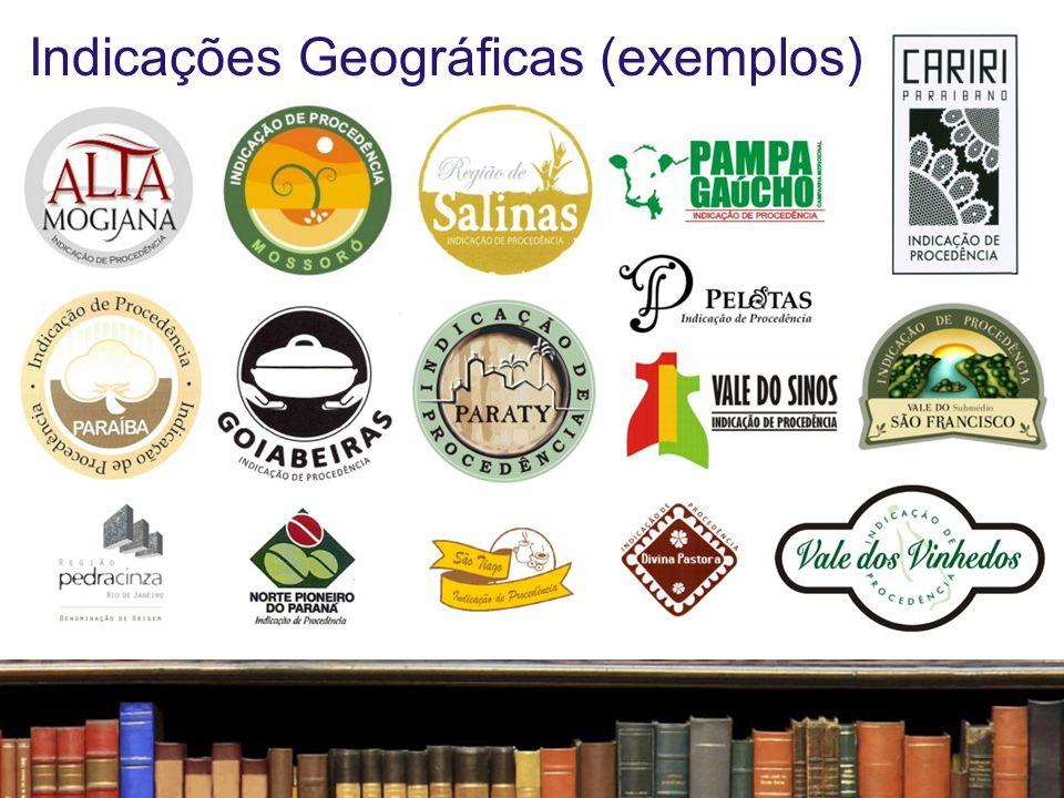 Indicações Geográficas (exemplos)