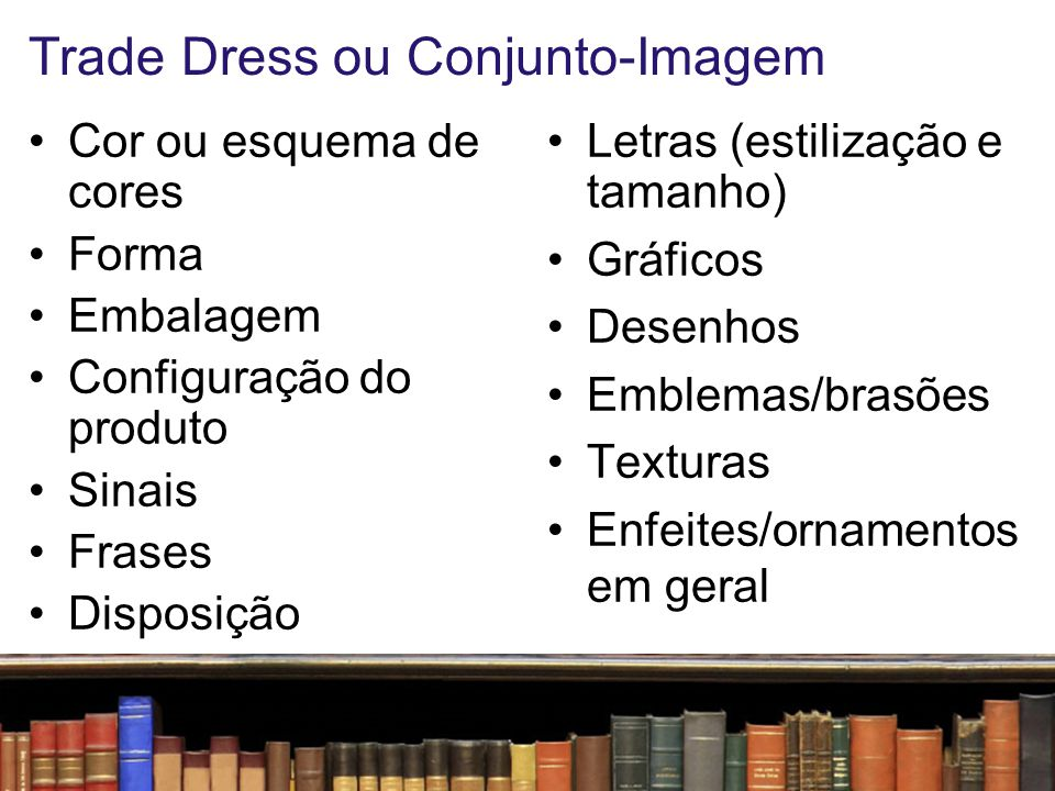 Trade Dress ou Conjunto-Imagem