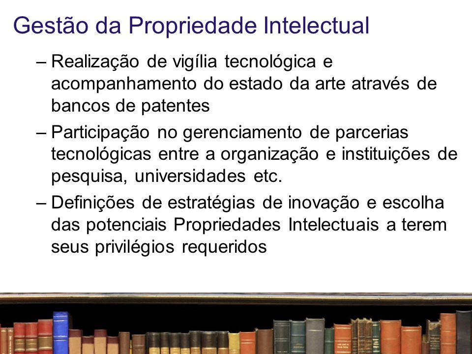 Gestão da Propriedade Intelectual