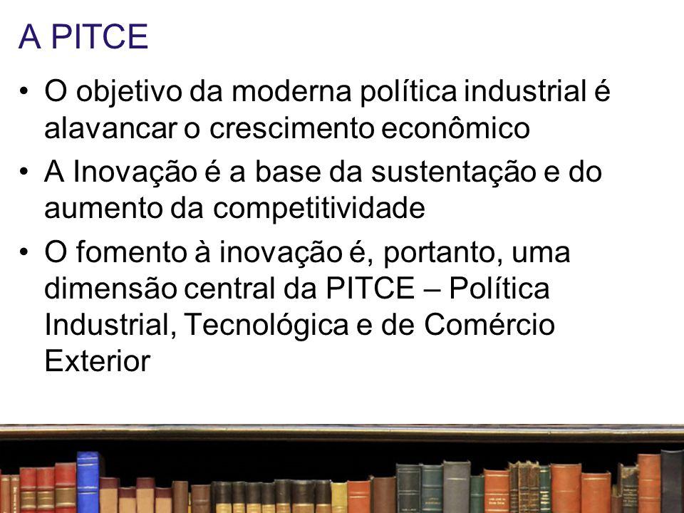 A PITCE O objetivo da moderna política industrial é alavancar o crescimento econômico.