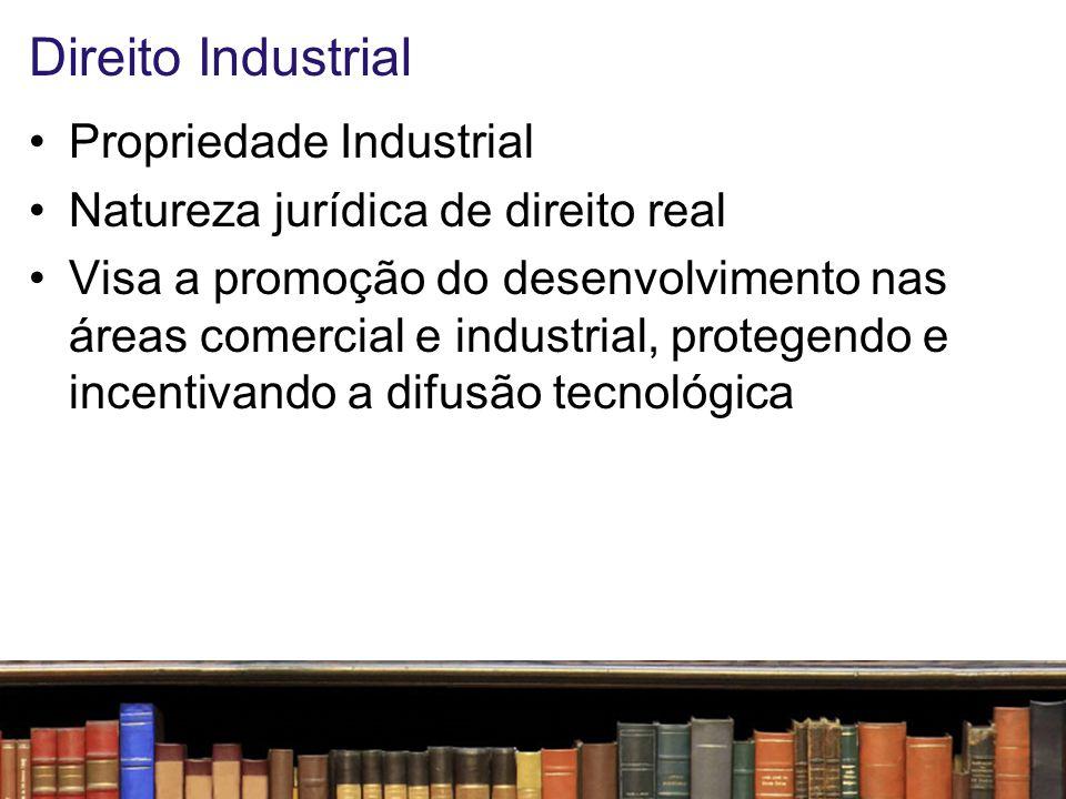 Direito Industrial Propriedade Industrial