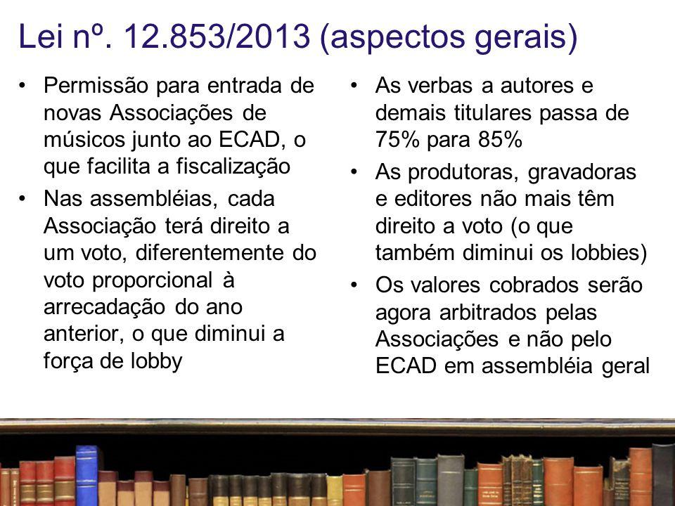 Lei nº. 12.853/2013 (aspectos gerais)