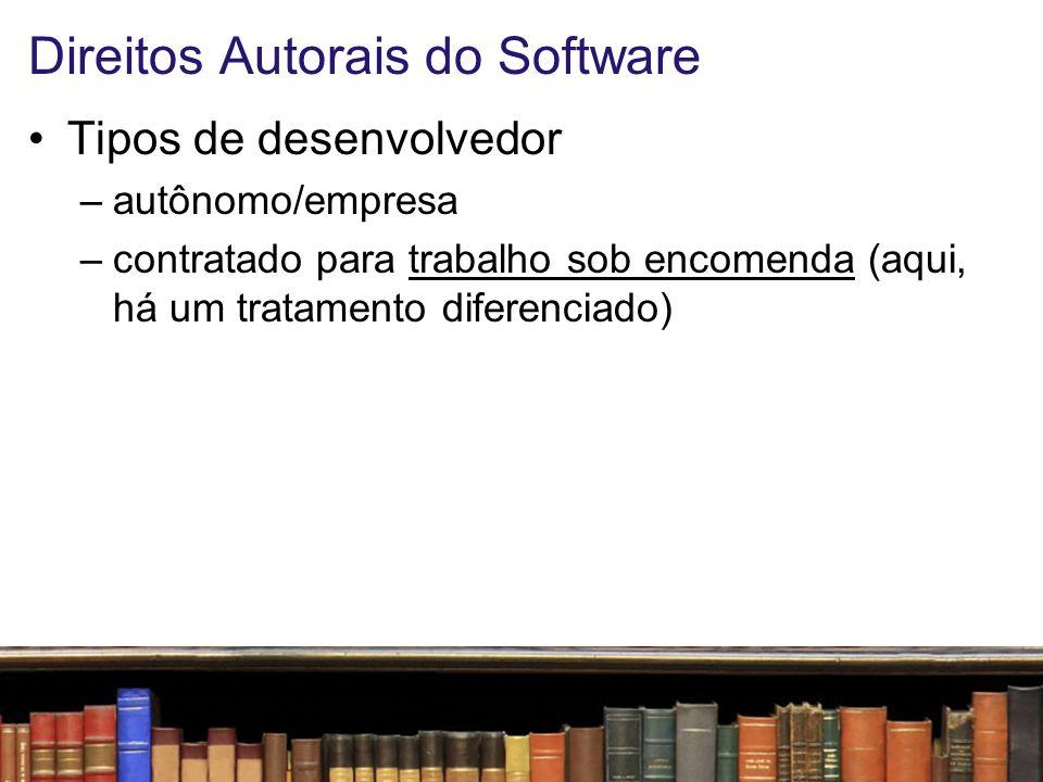 Direitos Autorais do Software