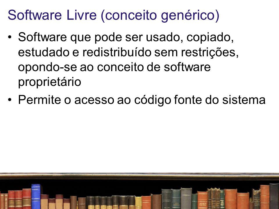 Software Livre (conceito genérico)