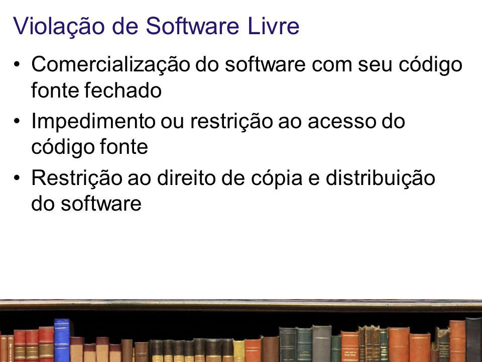 Violação de Software Livre