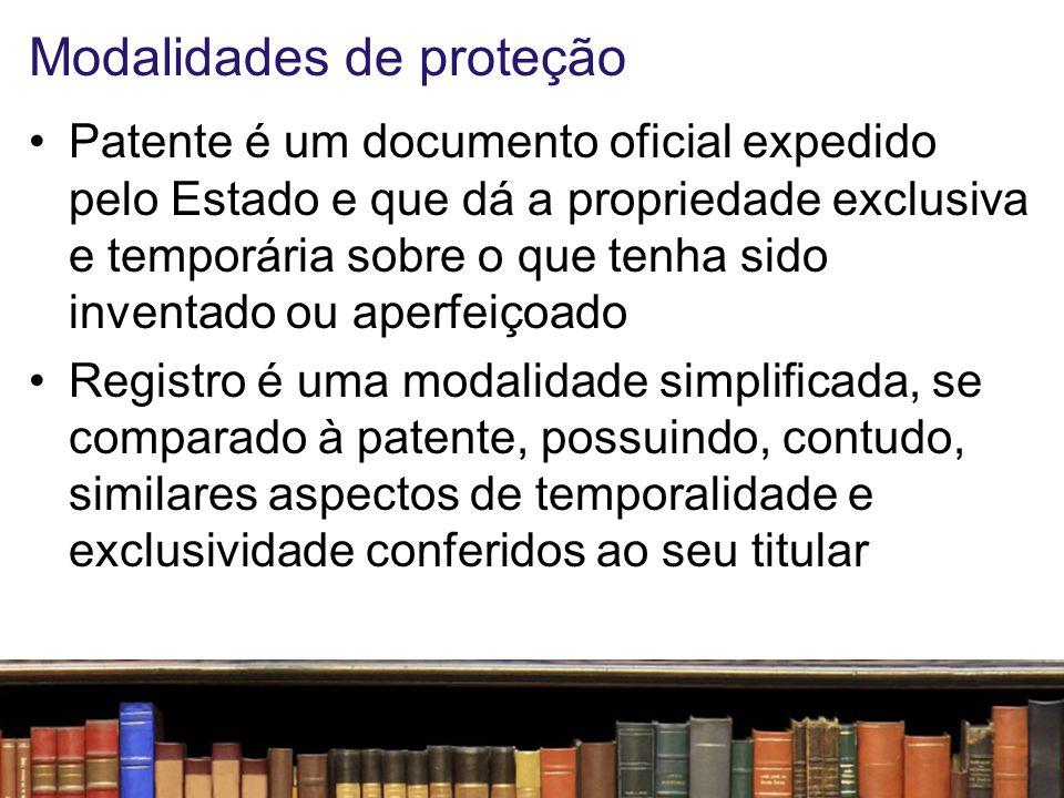 Modalidades de proteção
