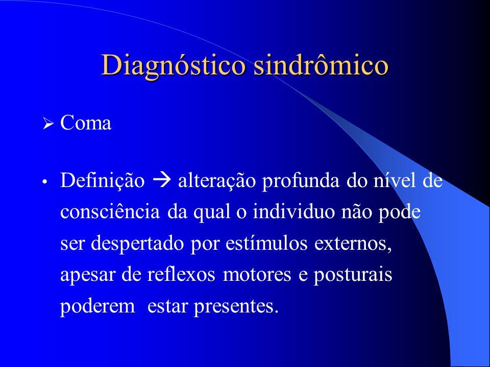 Diagnóstico sindrômico