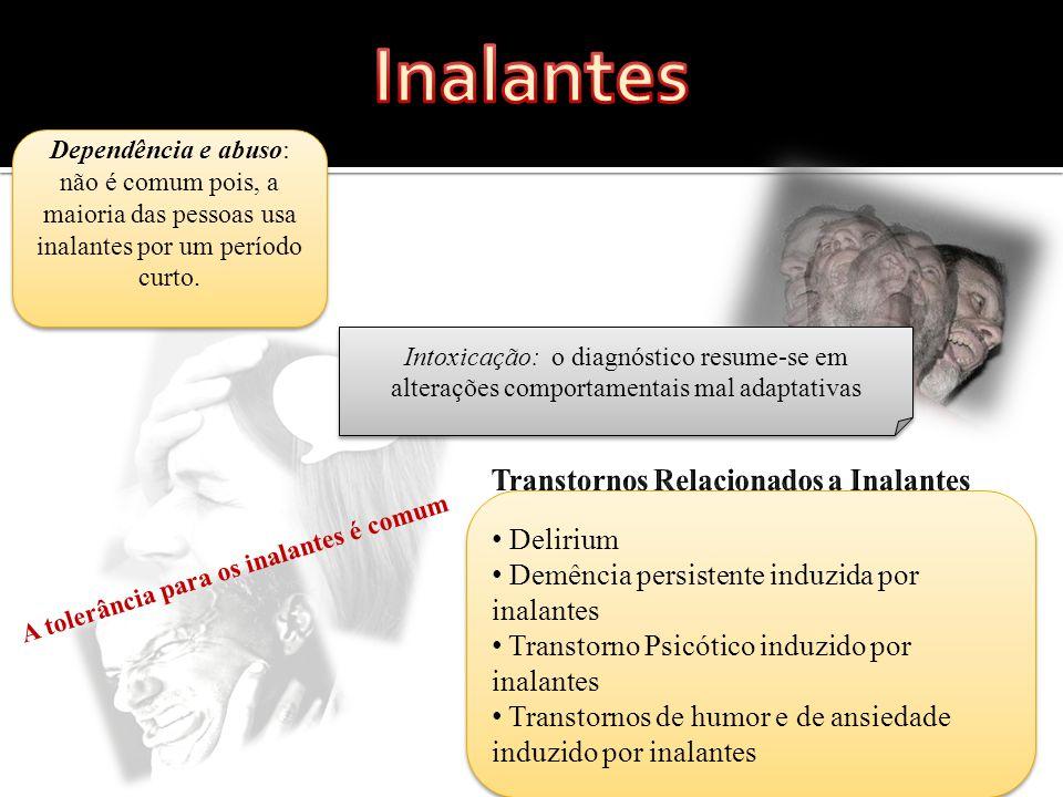 Transtornos Relacionados a Inalantes