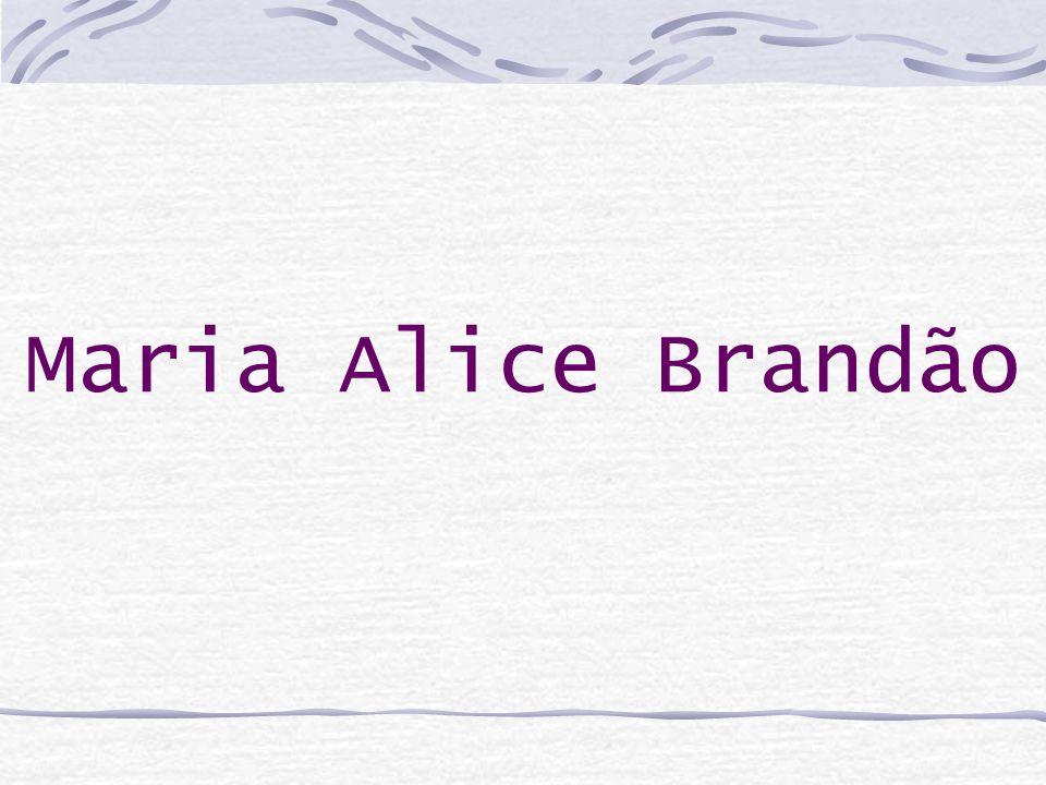 Maria Alice Brandão