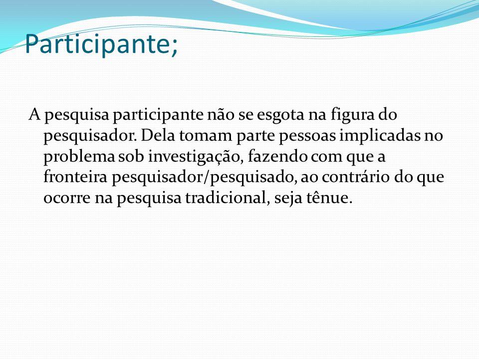 Participante;