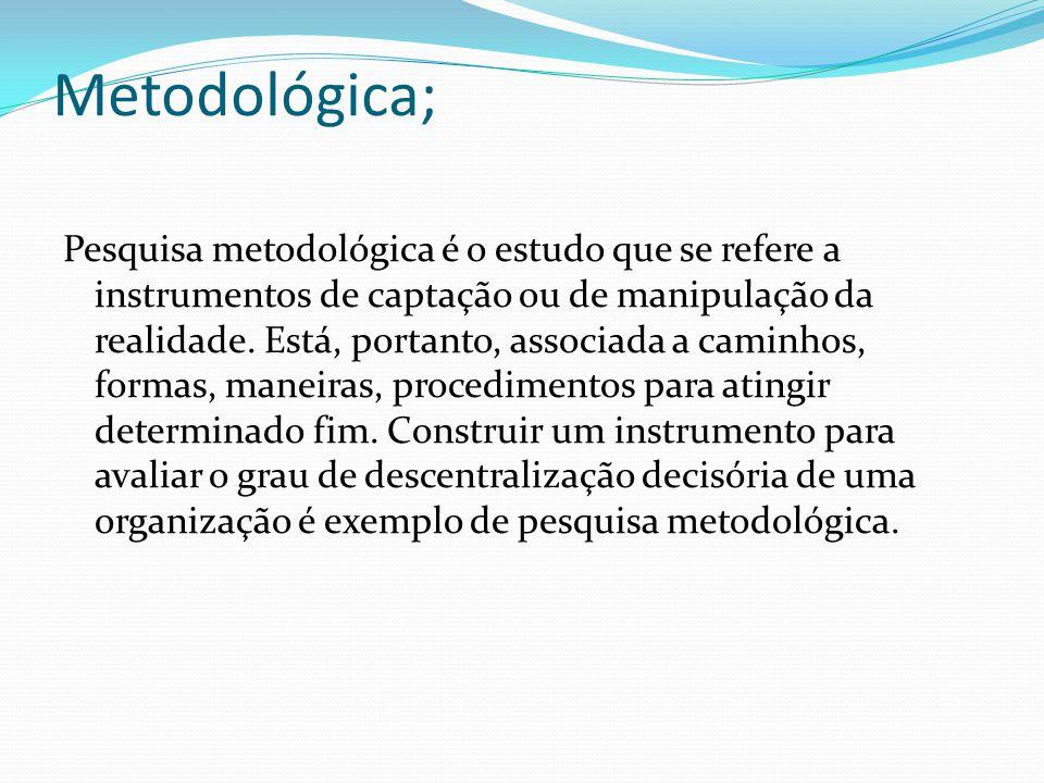 Metodológica;