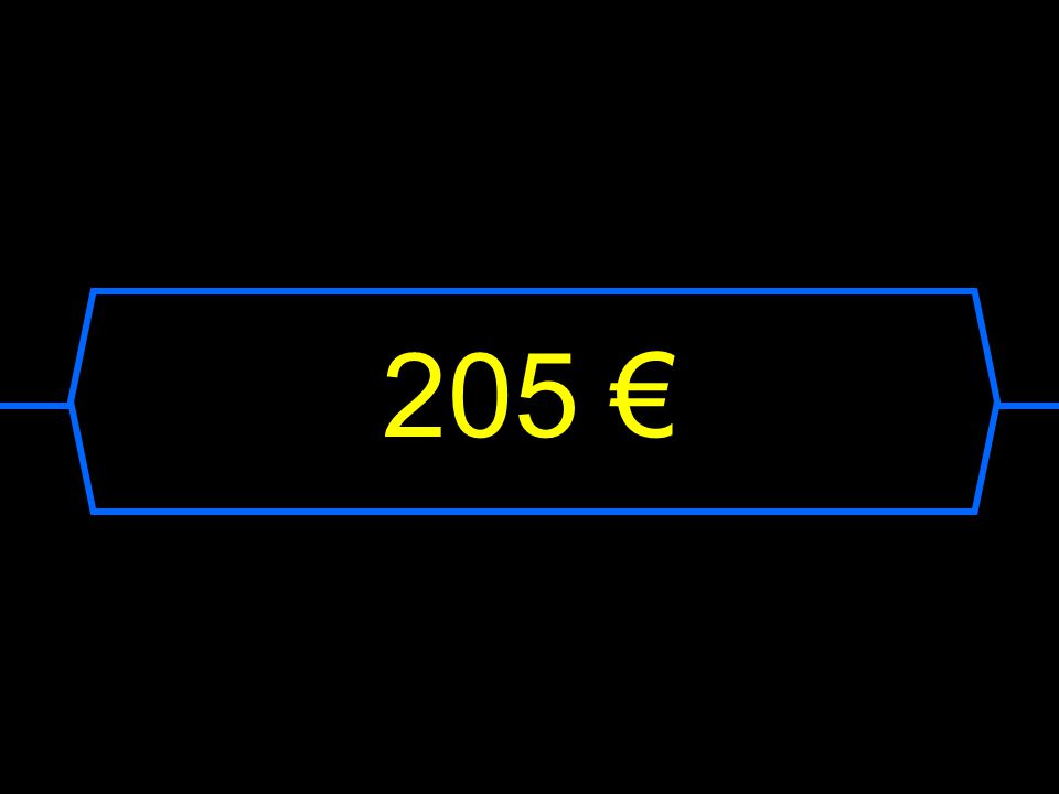 205 €