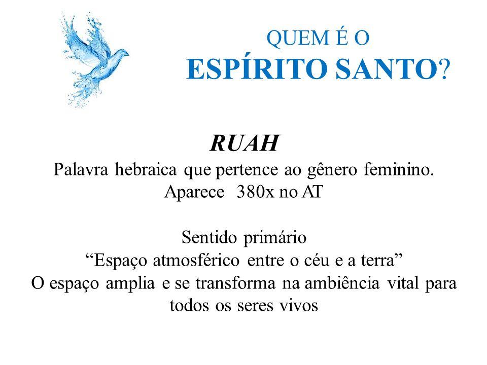 ESPÍRITO SANTO RUAH QUEM É O