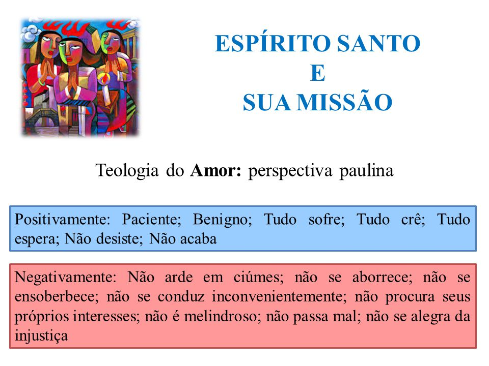 Teologia do Amor: perspectiva paulina