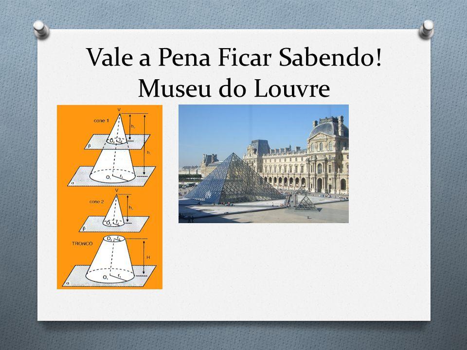 Vale a Pena Ficar Sabendo! Museu do Louvre