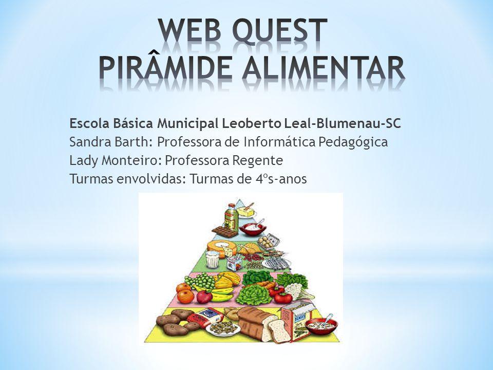 WEB QUEST PIRÂMIDE ALIMENTAR