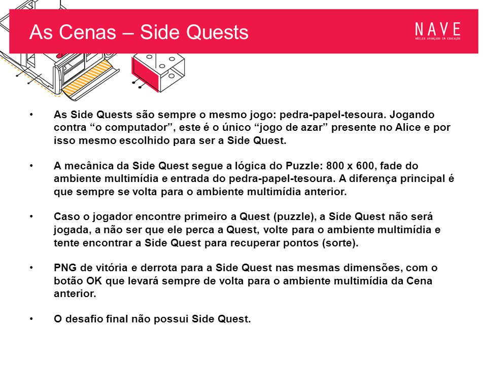 As Cenas – Side Quests