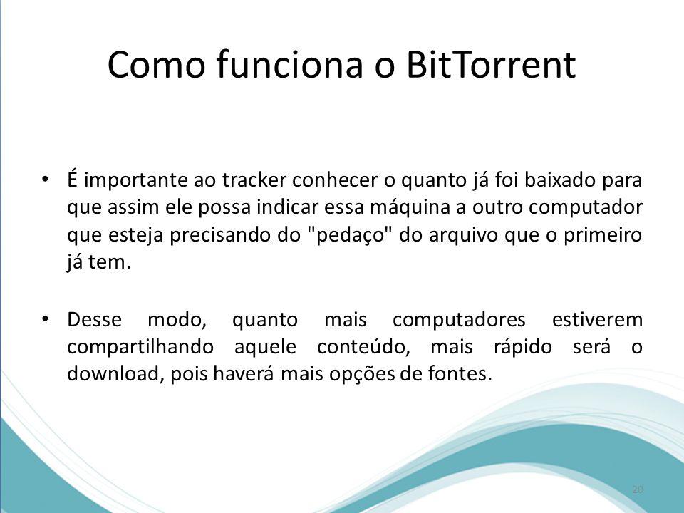 Como funciona o BitTorrent