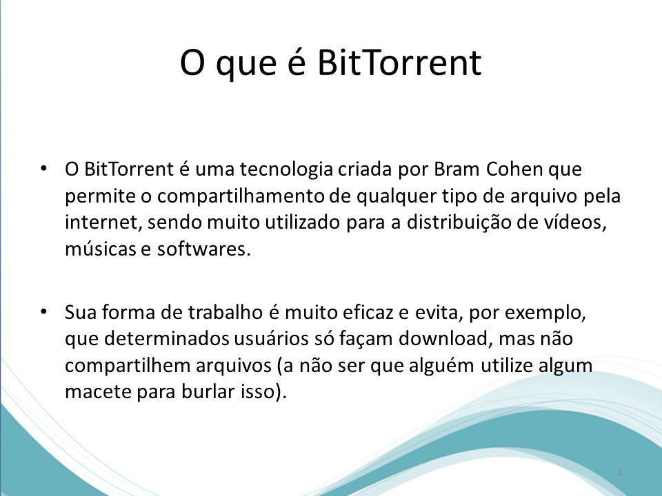 O que é BitTorrent