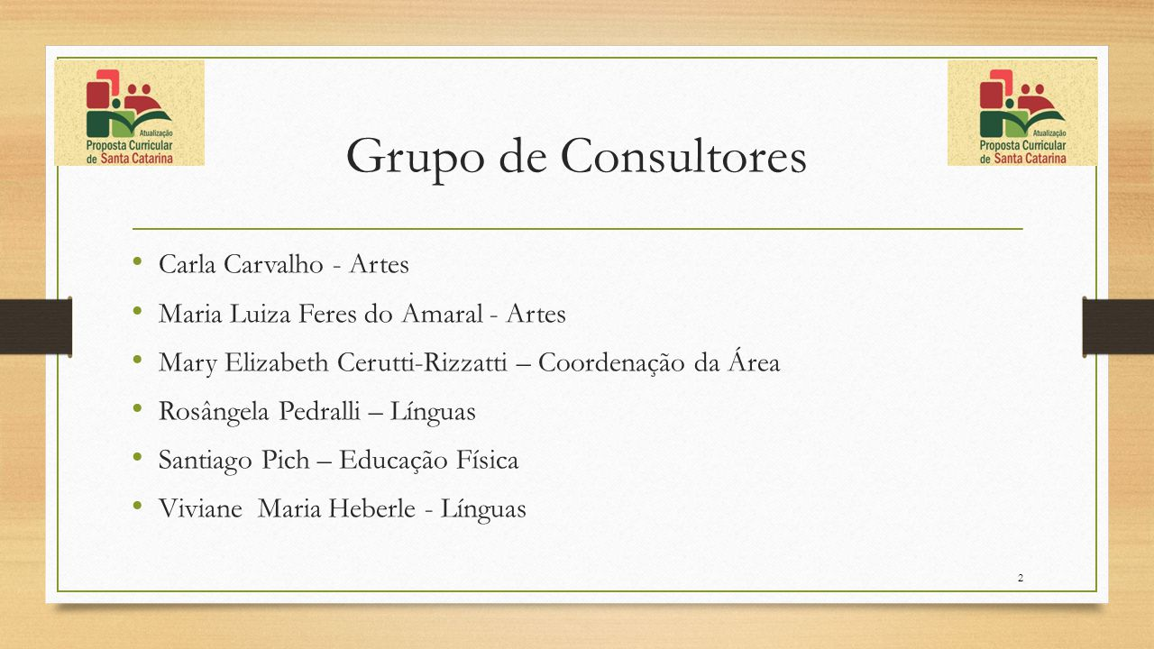 Grupo de Consultores Carla Carvalho - Artes