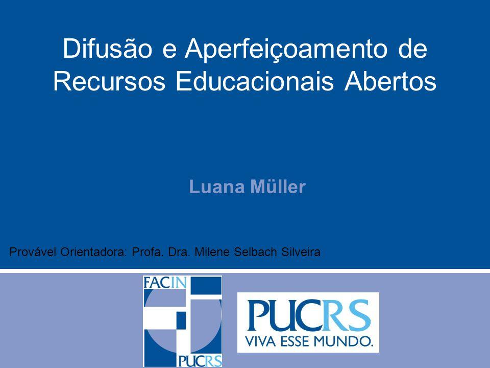 Difusão e Aperfeiçoamento de Recursos Educacionais Abertos