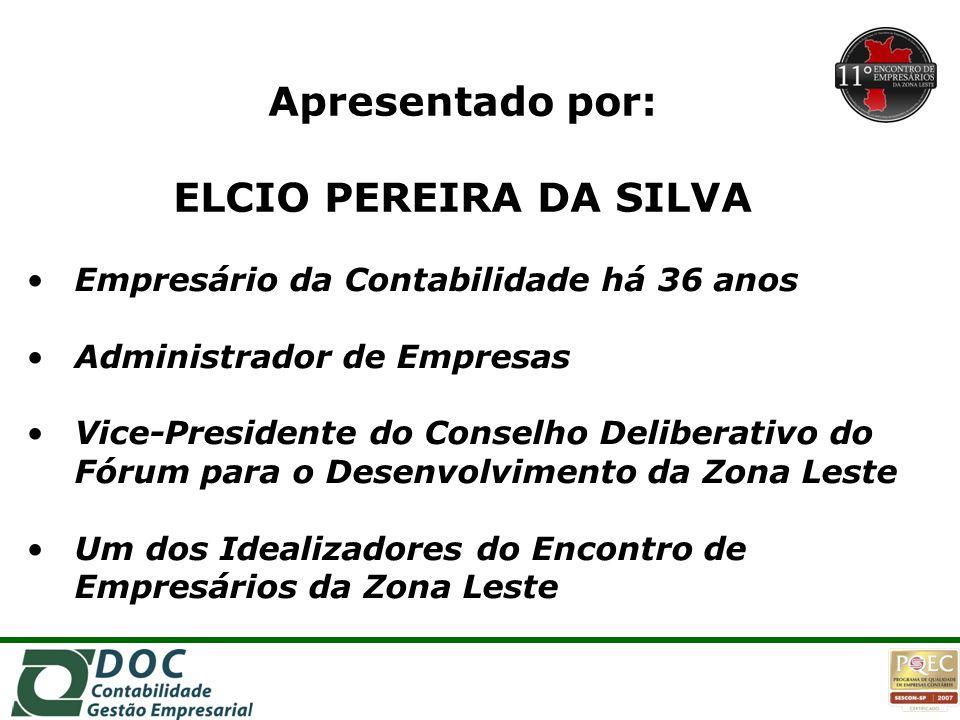 Apresentado por: ELCIO PEREIRA DA SILVA