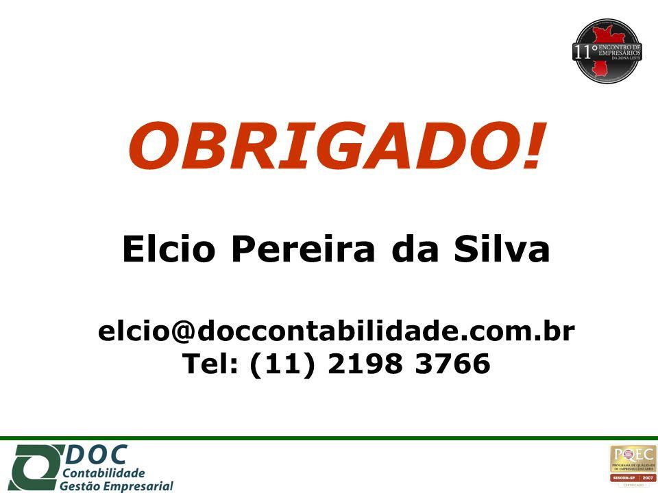 elcio@doccontabilidade.com.br Tel: (11) 2198 3766