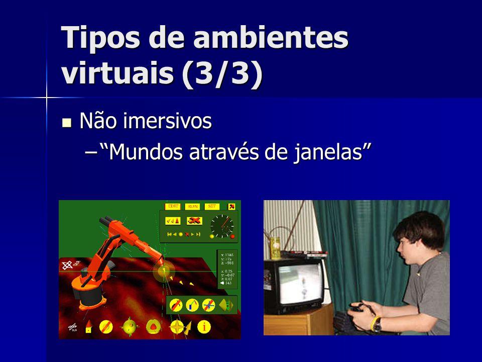 Tipos de ambientes virtuais (3/3)