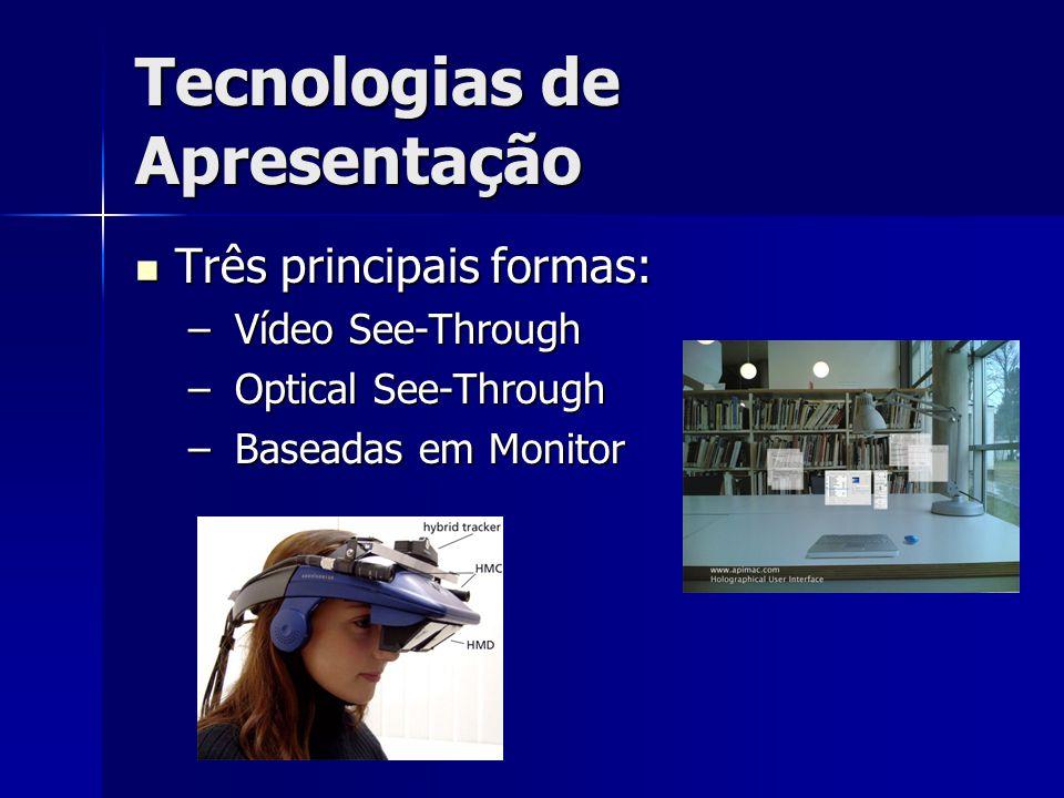Tecnologias de Apresentação