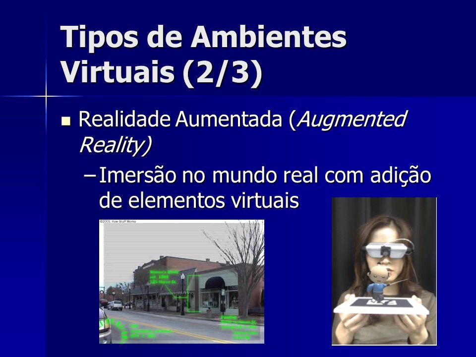 Tipos de Ambientes Virtuais (2/3)
