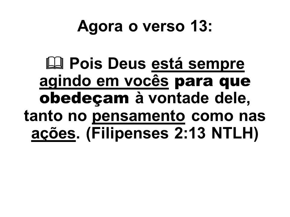 Agora o verso 13: