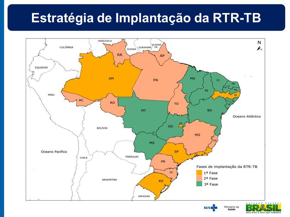 Estratégia de Implantação da RTR-TB
