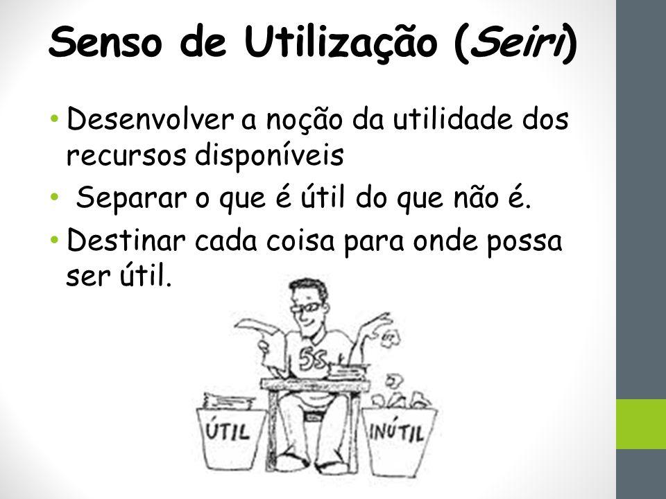 Senso de Utilização (Seiri)