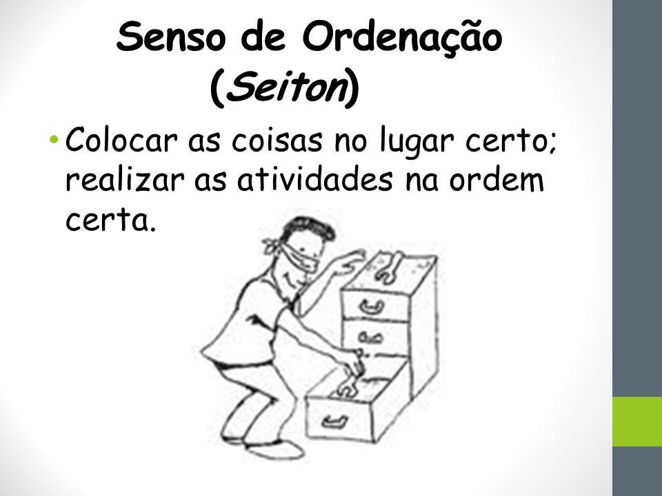 Senso de Ordenação (Seiton)