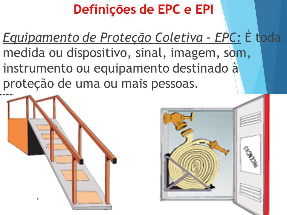 Definições de EPC e EPI