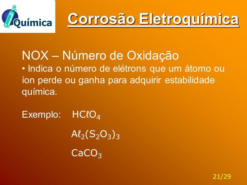 Corrosão Eletroquímica