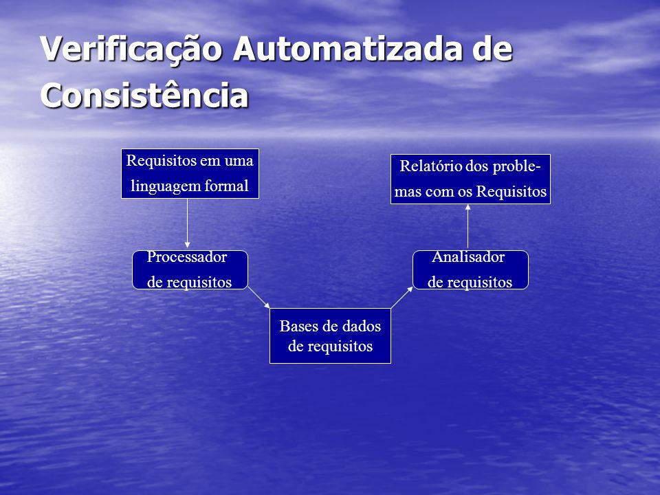 Verificação Automatizada de Consistência