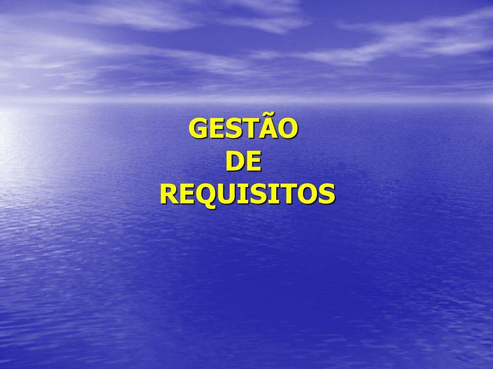 GESTÃO DE REQUISITOS