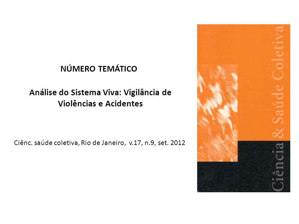 Análise do Sistema Viva: Vigilância de Violências e Acidentes
