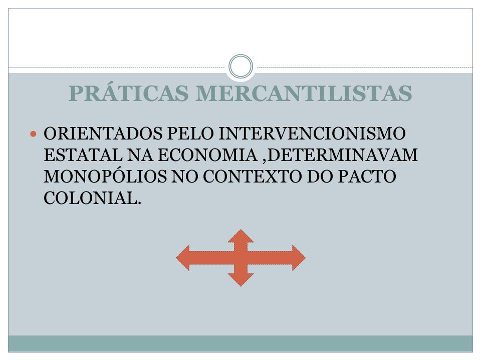 PRÁTICAS MERCANTILISTAS