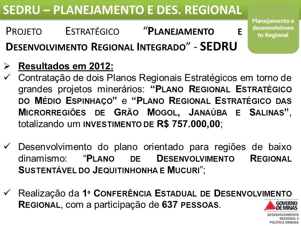 Planejamento e desenvolvimento Regional