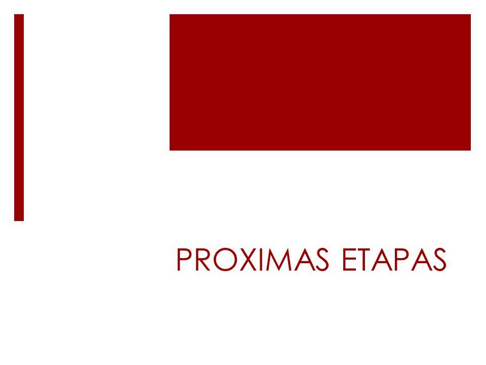 PROXIMAS ETAPAS