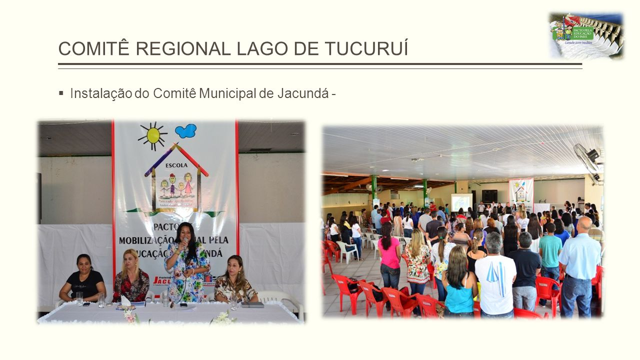 COMITÊ REGIONAL LAGO DE TUCURUÍ