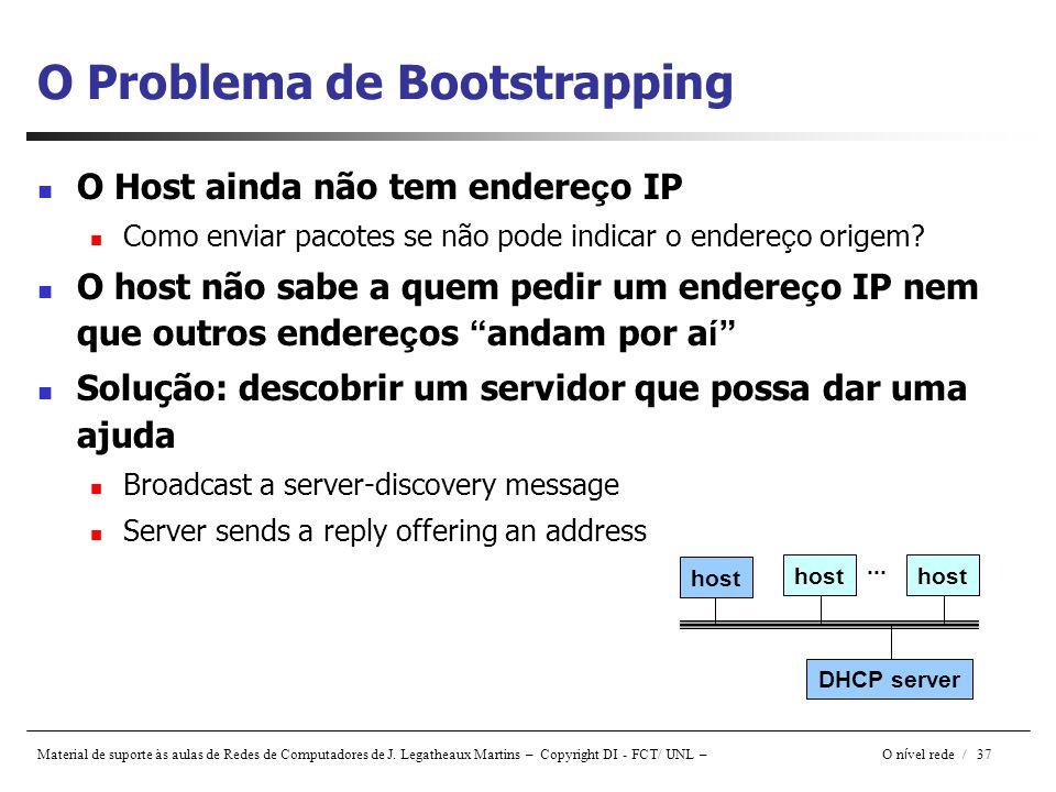 O Problema de Bootstrapping