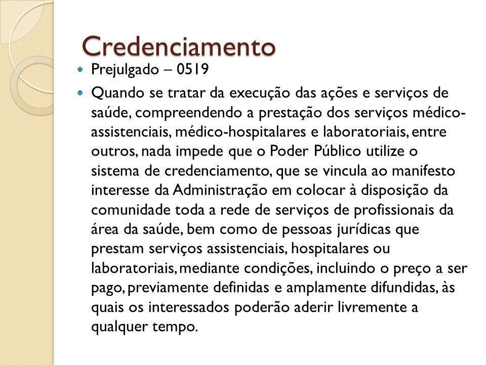 Credenciamento Prejulgado – 0519