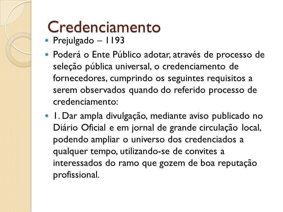Credenciamento Prejulgado – 1193